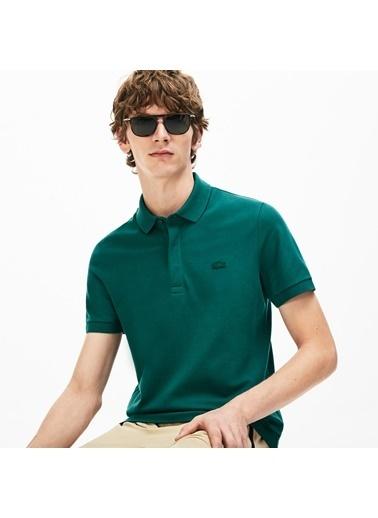 Lacoste Erkek Regular Fit Tişört PH5522.2S9 Yeşil